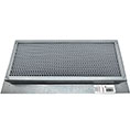 "4""H x 14""W (24 Sq. In. Venting Area) Vulcan Fire Stopping Foundation or Soffit Vent for Wood Siding or Fiber Cement Board, Galvanized Steel"