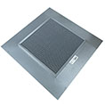 "20""H x 20""W (105 Sq. In. Venting Area) Vulcan Fire Stopping Base Flashing, Galvanized Steel, for use with any standard dormer vent"