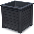 "20""W x 20""D x 20""H Lakeland Planter Box, Black"