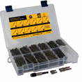 "C-Deck Composite Decking ""Star Drive"" Assortment Kit - 550 pc assorted screws"