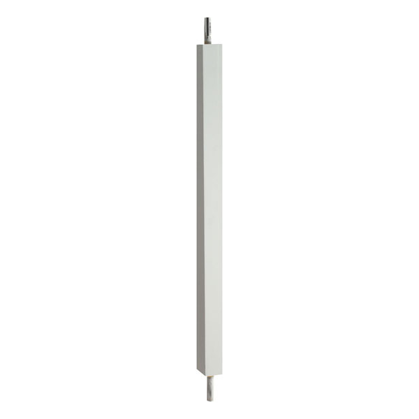 "1 3/4""W x 32""H Square Baluster, 5 11/16"" On Center Spacing For 4"" Sphere Code"