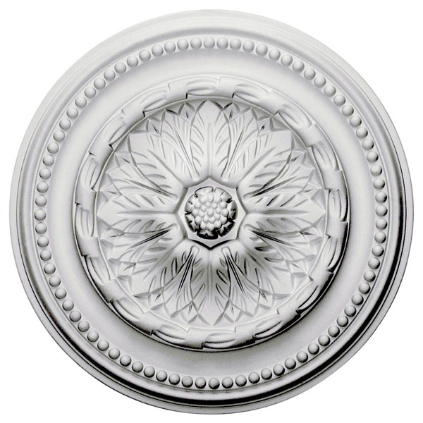 """15 3/4""""OD x 2""""ID x 1 7/8""""P Chester Ceiling Medallion"""