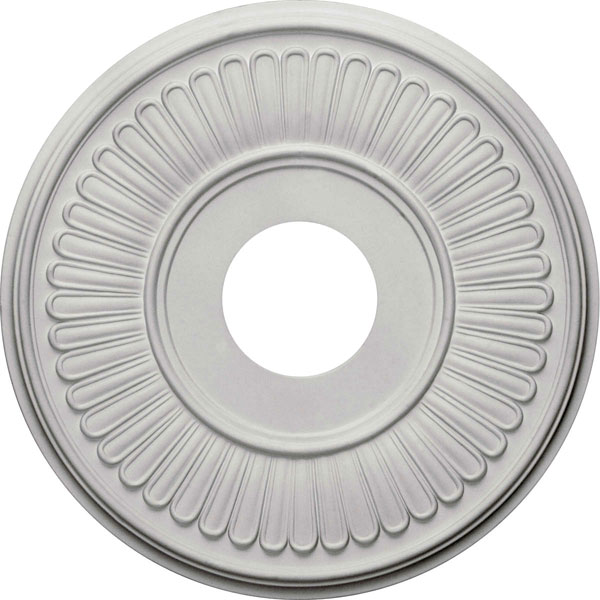 """15 3/4""""OD x 3 7/8""""ID x 3/4""""P Berkshire Ceiling Medallion (Fits Canopies up to 7"""")"""