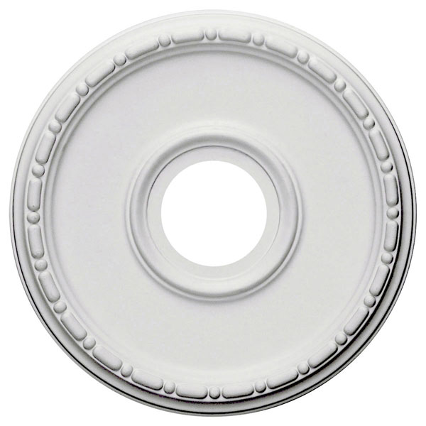 """16 1/2""""OD x 3 7/8""""ID x 1 1/2""""P Medea Ceiling Medallion (Fits Canopies up to 5 3/8"""")"""