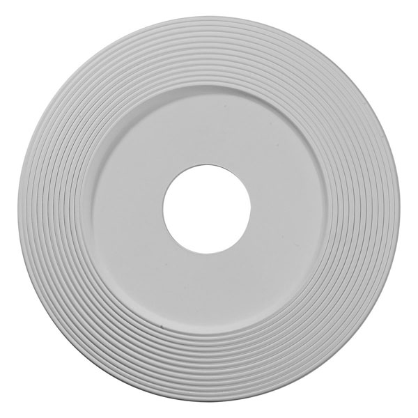 """16 1/8""""OD x 3 5/8""""ID x 1""""P Adonis Ceiling Medallion (Fits Canopies up to 10 1/4"""")"""