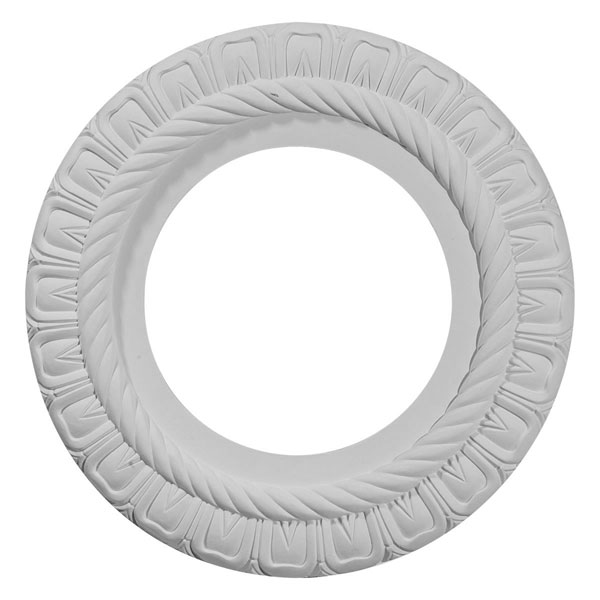 """10 5/8""""OD x 5 3/4""""ID x 1/2""""P Claremont Ceiling Medallion (Fits Canopies up to 7"""")"""