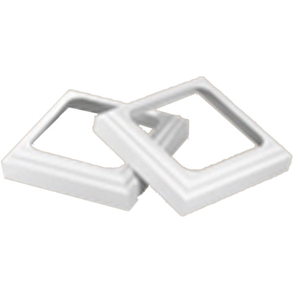 "TRIM KIT, for 6"" QuickPost, White"