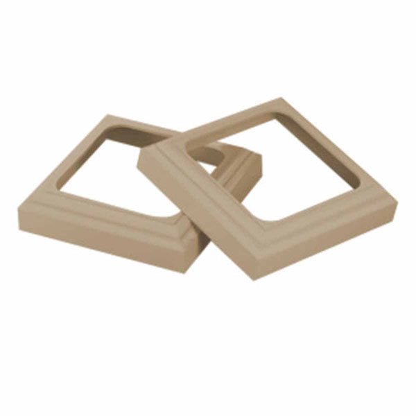 "TRIM KIT, for 6"" QuickPost, Tan"