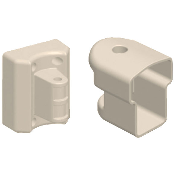 TOP RAIL BRACKET, Tan Multi-Angle Pivot & Connector  (Includes 1 Rod and 2 Caps)