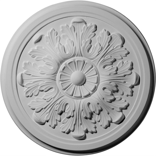 """12 3/4""""OD x 7/8""""P Legacy Acanthus Ceiling Medallion"""