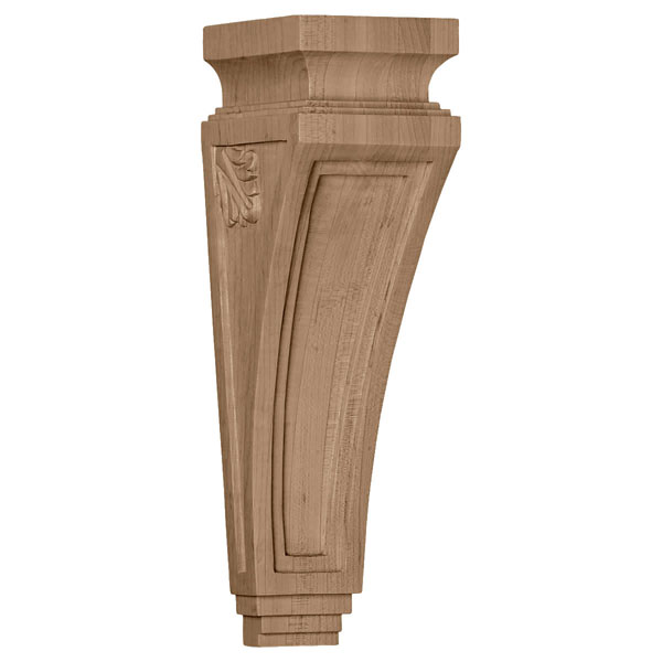 """3 7/8""""W x 4 1/2""""D x 14""""H Arts and Crafts Corbel"""