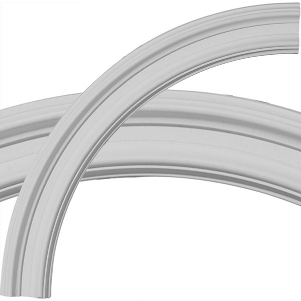 """24""""OD x 20""""ID x 2""""W x 7/8""""P Claremont Ceiling Ring (1/4 of complete circle)"""