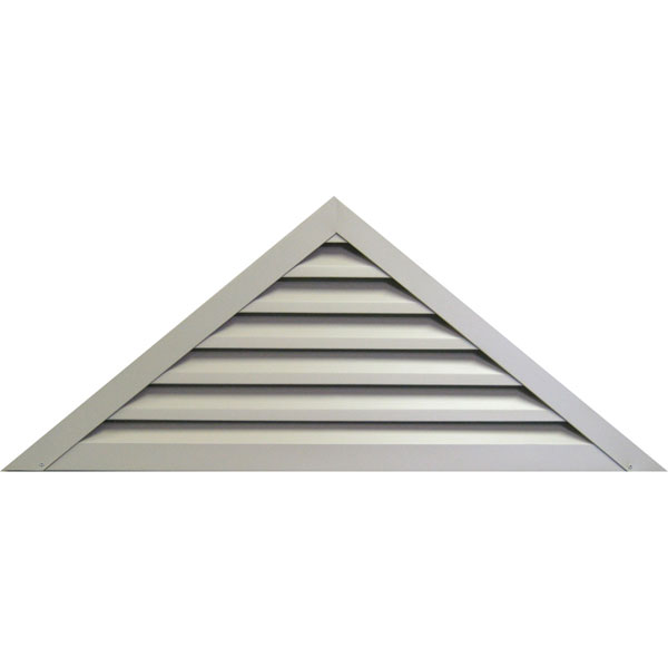Triangle Aluminum Gable Vent Louver