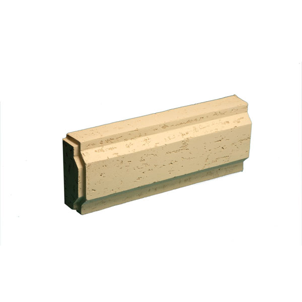 "Decorative Trim Blocks, Stone Texture, 8 31/32""W x 24""L x 3 7/8""P"