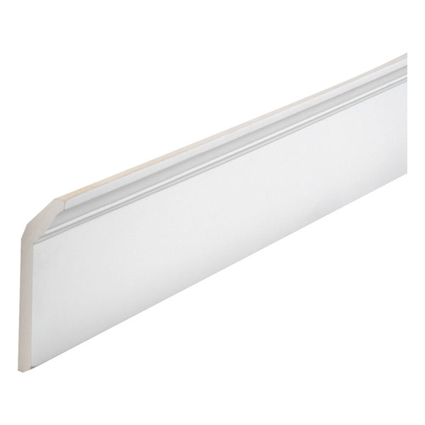 "7 5/8""W x 2 3/8""P, 16' Length, Crown Fascia Moulding"