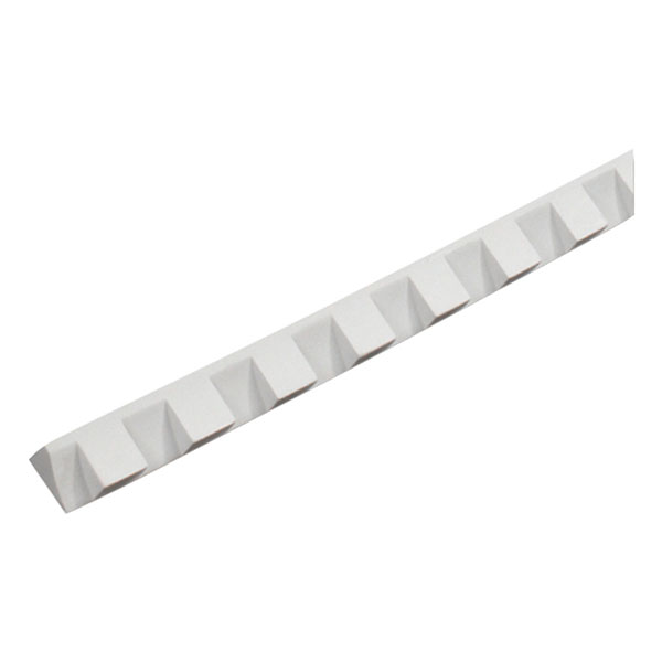 "1 1/4""W x 1 1/4"" Tooth/Space x 5/8""P, 5' Length, Small Dentil Moulding"