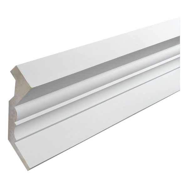 "11 5/16""W x 8 11/16""P, 12' Length, Crown Fascia Moulding"