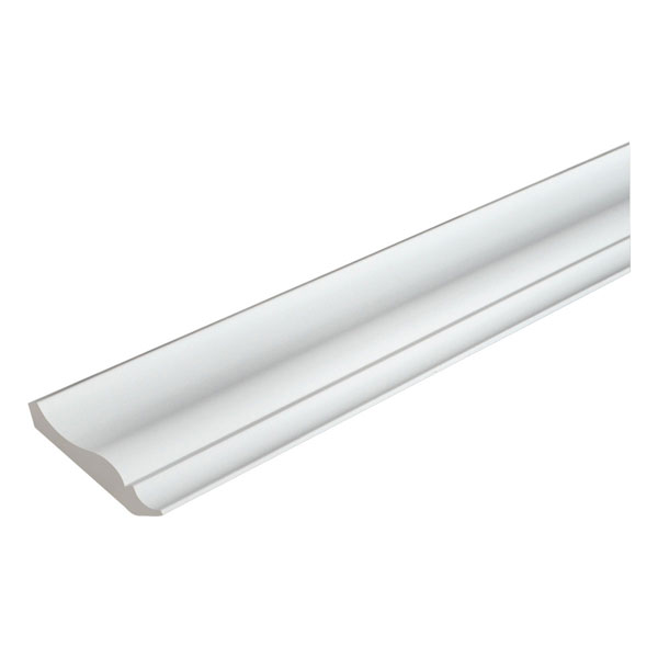 "3 15/16""H x 3 25/32""P, 12' Length, Crown Moulding"