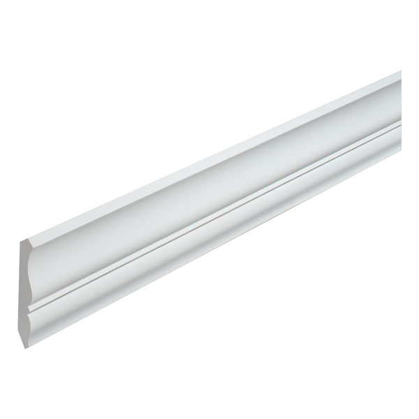 "4 7/16""H x 2 3/4""P, 16' Length, Crown Moulding"