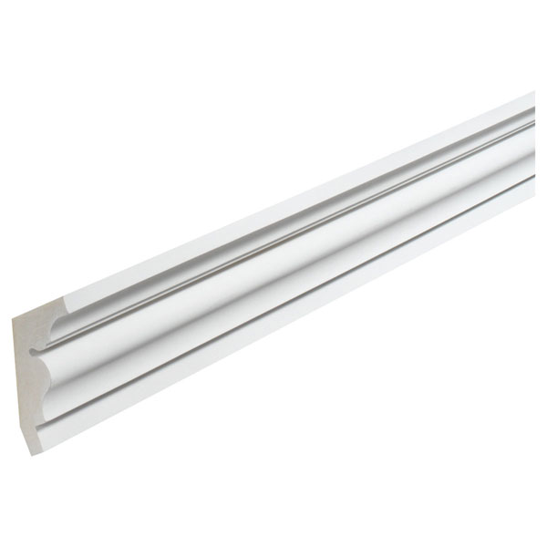 "5 1/8""H x 4 3/8""P, 12' Length, Classic Crown Moulding"