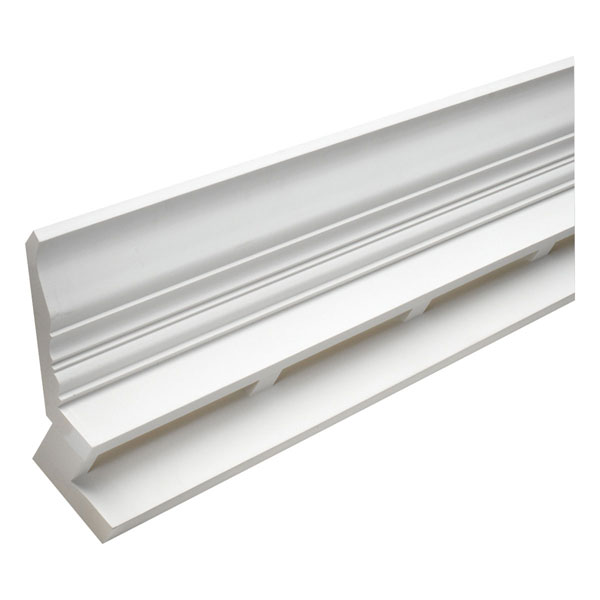"9 5/16""H x 7 7/16""P Crown E-Vent, 12' Length"