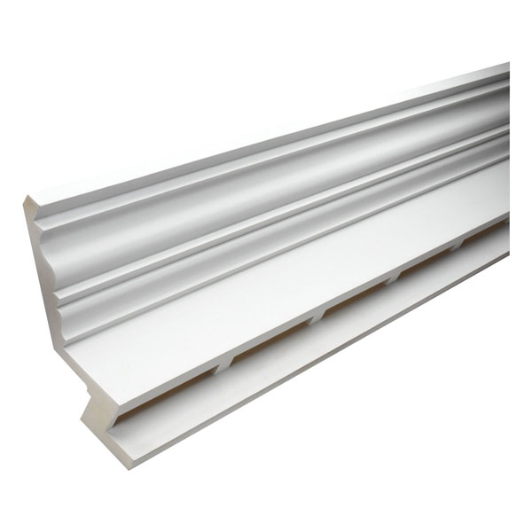 "14 3/4""H x 9 1/32""P Massive Crown E-Vent, 12' Length"