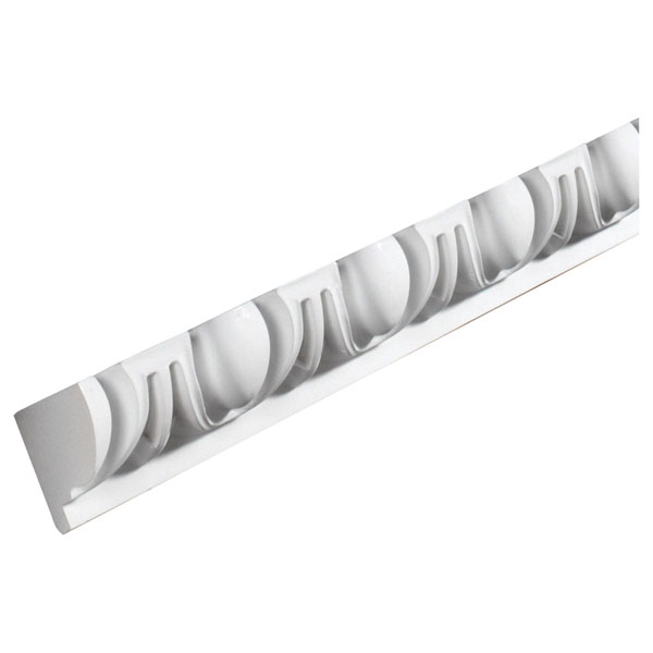 "2 15/16""H x 2 3/8""P, 8' 5""Length, Egg and Dart Moulding"