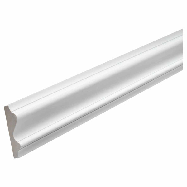 "5 1/2""H x 1 5/8""P, 16' Length, Chair Rail Moulding"