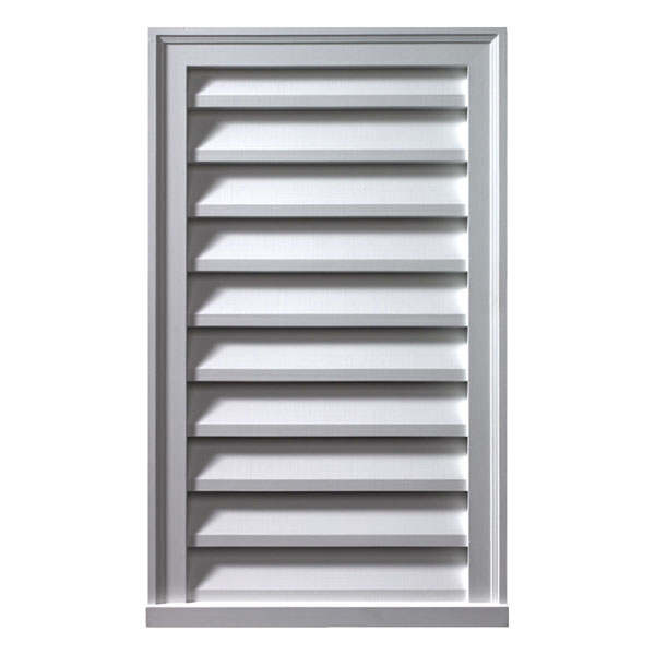 "18""W x 30""H Vertical Louver, Functional"