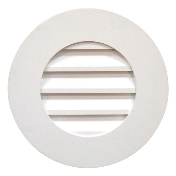 "27""W x 27""H Plain Round Louver, Decorative"