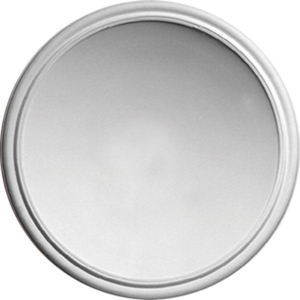 """53 1/2""""OD x 47 1/4""""ID x 10 1/4""""D Talor Recessed Ceiling Dome - Round, Urethane"""