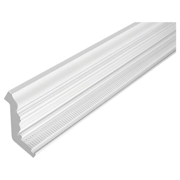 "7""H x 5 1/2""P Crown Dentil, 12' Length, Urethane"