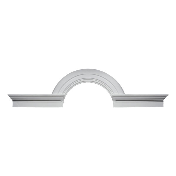 "36""IW x 108""OW x 18""R Arch Trim with Flankers - Decorative"